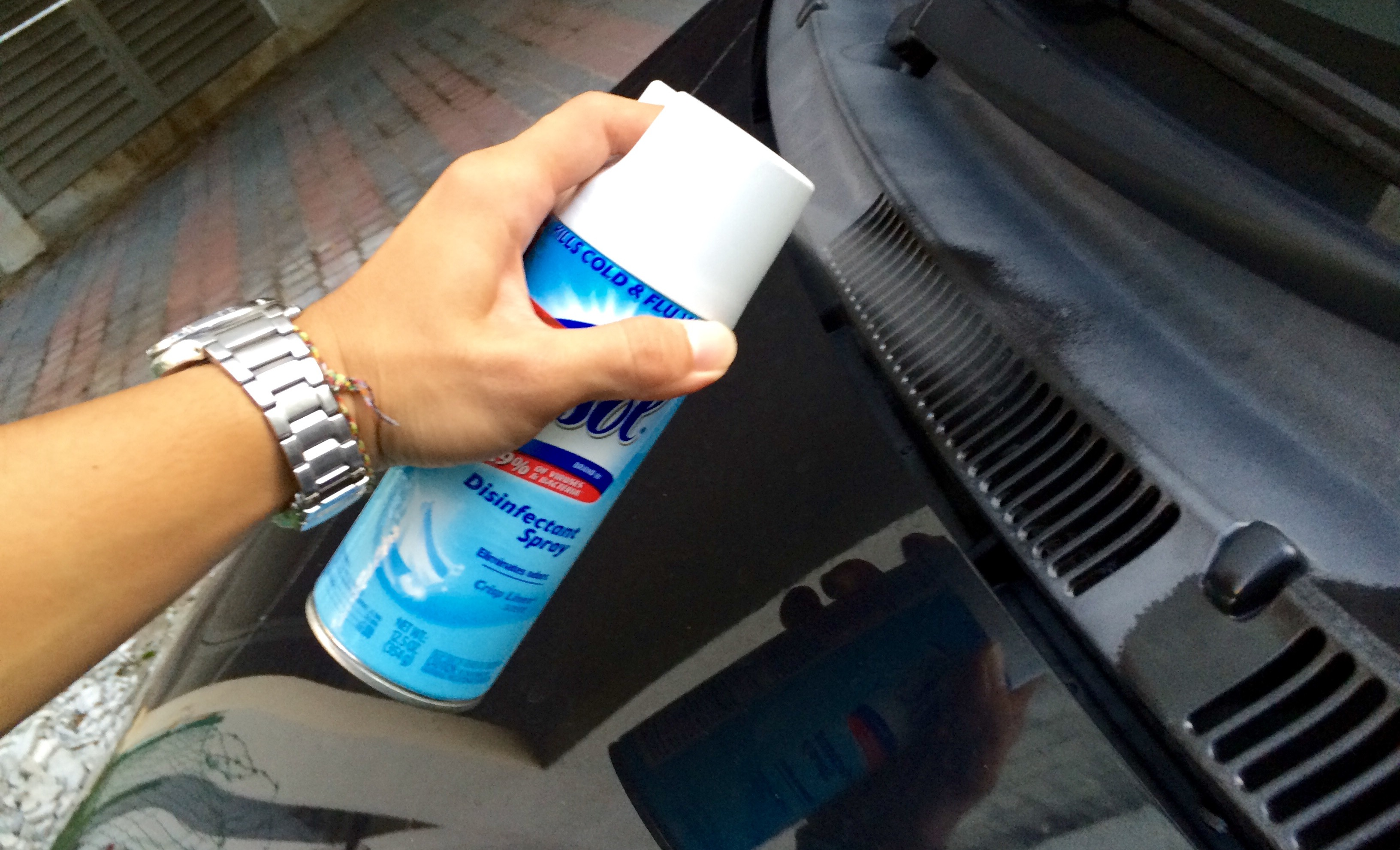 Diy Airco Diy Fix Bad Smell In Car Air Conditioner With Lysol