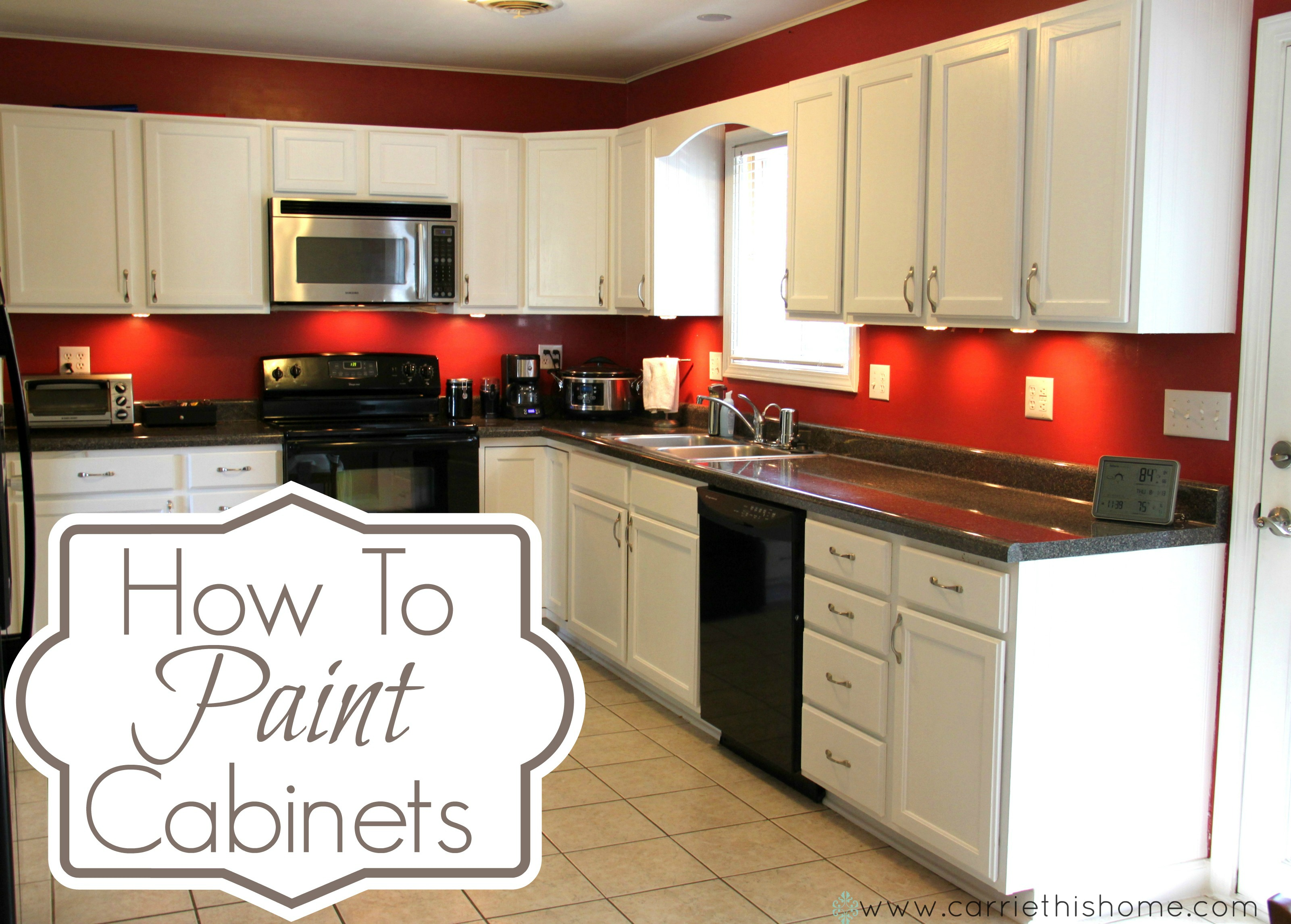 How To Paint Kitchen Cabinets With A Roller How To Paint Cabinets