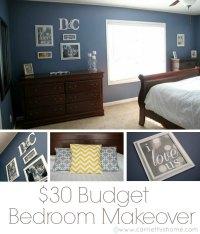 Budget Master Bedroom Makeover