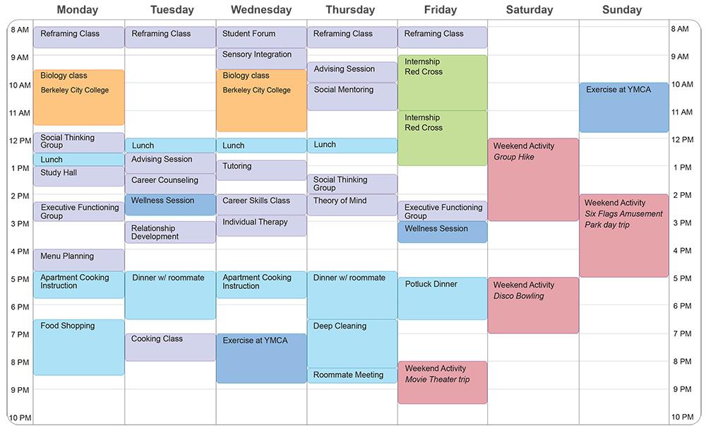 college class schedule template class schedule template college