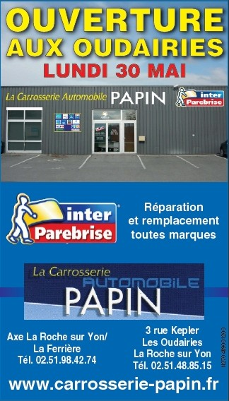 Entreprise Renovation Vendee Inter Parebrise : Carrosserie Automobile Papin à La