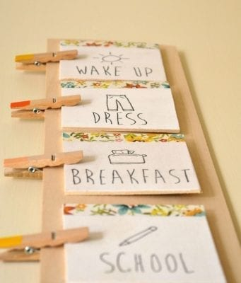 12 Brilliant Kids Charts for Chores  Daily Routine