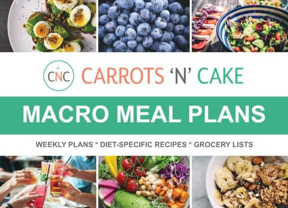 CNC Weekly Macro Meal Plans - Carrots \u0027N\u0027 Cake