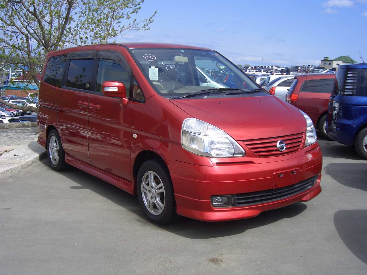 Car Carrier Height 2004 Nissan Serena Specs Engine Size 2000cm3 Fuel Type