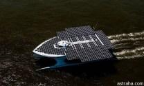 بالصور قارب يعمل بالطاقة الشمسية يعبر الأطلسي في 22 يوم