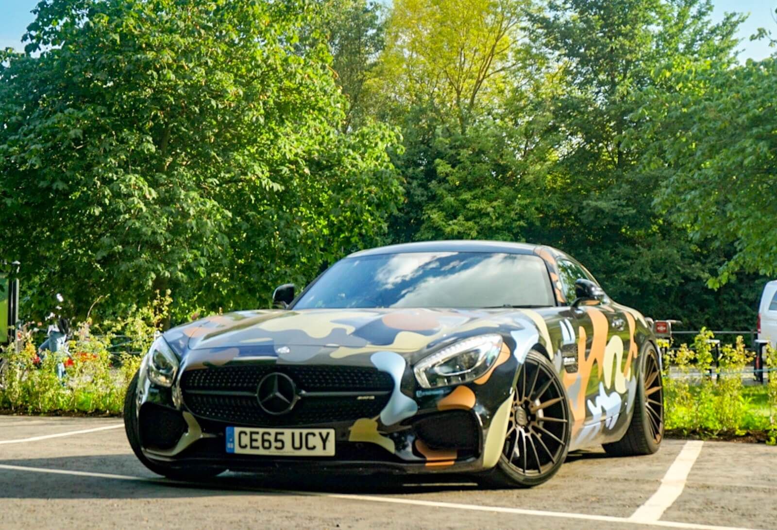 Mercedes Amg Exclusive Mercedes Amg Gts Camo In London Cars247