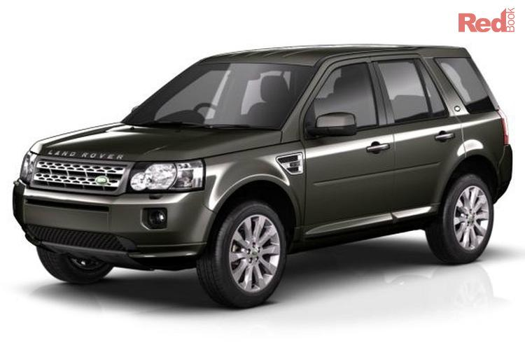 Land Rover Height 2012 Land Rover Freelander 2 Sd4 Lf Sd4 Hse Wagon 5dr Spts