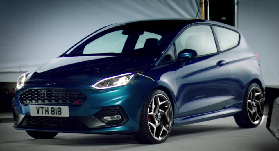 Led Verlichting Ford Fiesta 2018 Say Hello To The All-new 2018 Ford Fiesta St Hot Hatch