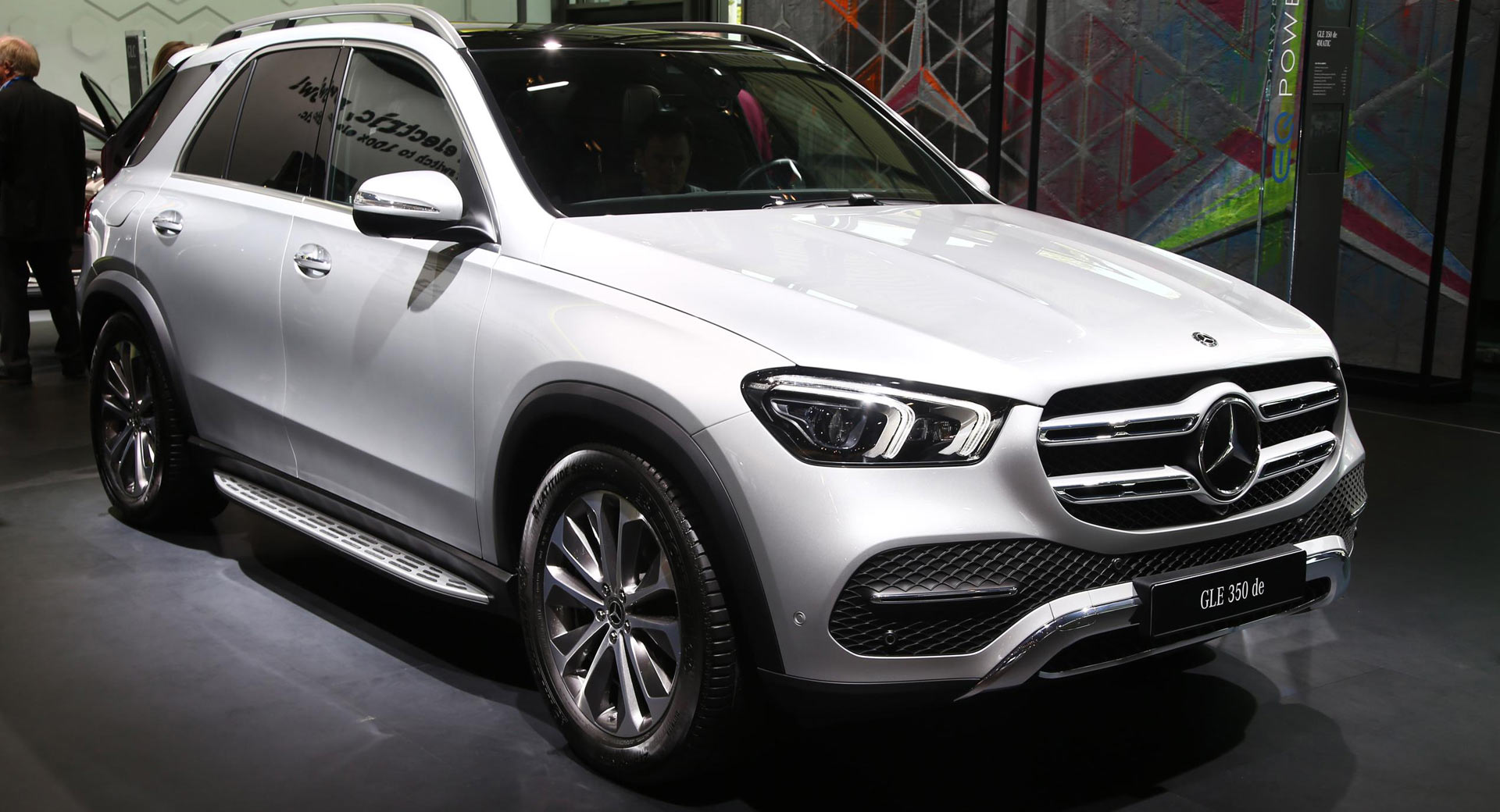 Pure Frankfurt New Mercedes-benz Gle 350 De 4matic Tries To Stand Out