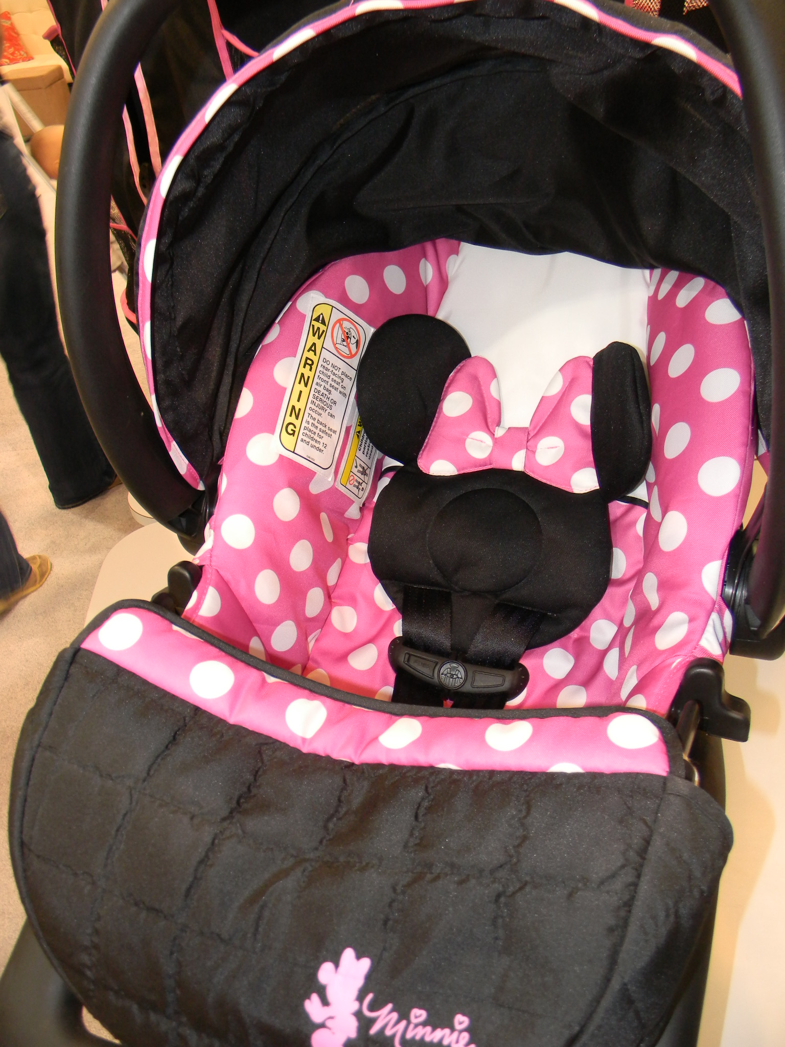 Minnie Mouse Infant Car Seat And Stroller Carseatblog The Most Trusted Source For Car Seat Reviews