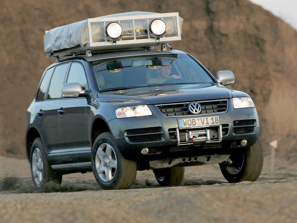 Bad Kissingen Offroad 2005 Volkswagen Touareg Expedition - Hd Pictures