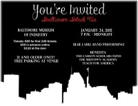 Baltimore Black Tie Benefit for CSF Alumni!