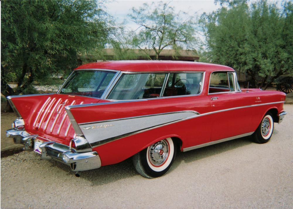 Chevrolet Bel Air II 1955 - 1957 Station wagon 3 door  OUTSTANDING