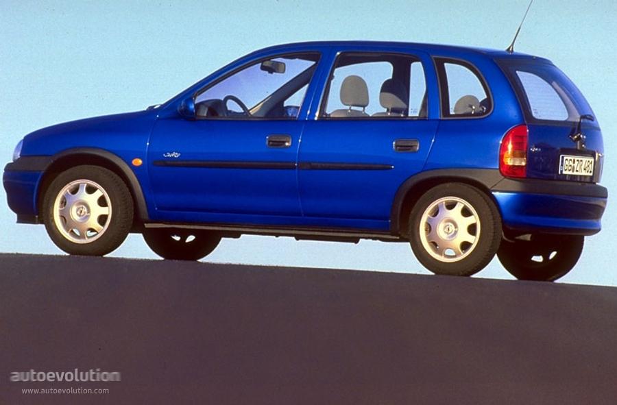 Opel Vita B 1995 - 2000 Hatchback 5 door  OUTSTANDING CARS