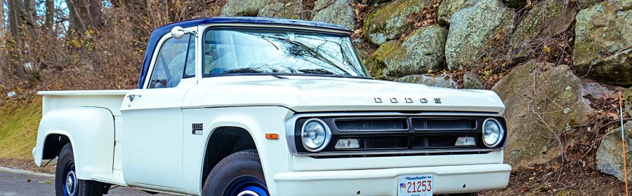 Jim Crotty updates his family 1970 Dodge D100 US Forest Service