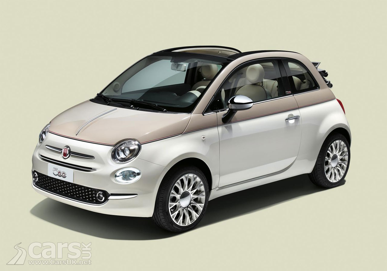 Fiat 500 Retro New Fiat 500 60th Pays Retro Homage To The Original Fiat