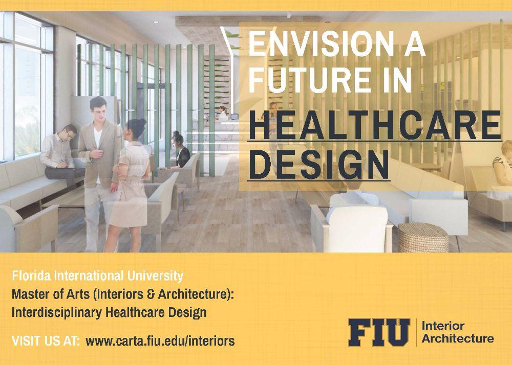 FIU CARTA Introduces a New Masters Track in Interdisciplinary Health