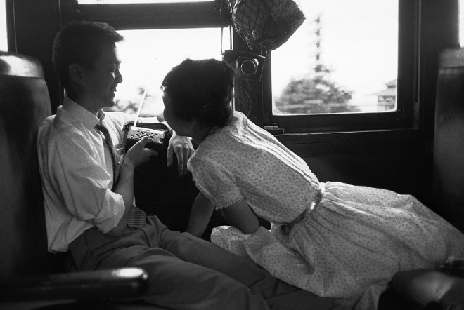 Treno per Tokio a Kamakura, 1961 RENE BURRI MAGNUM