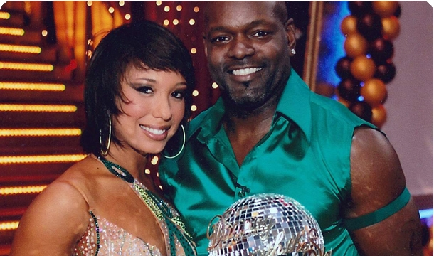 The stars spotlight emmitt smith and cheryl burke cartermatt com