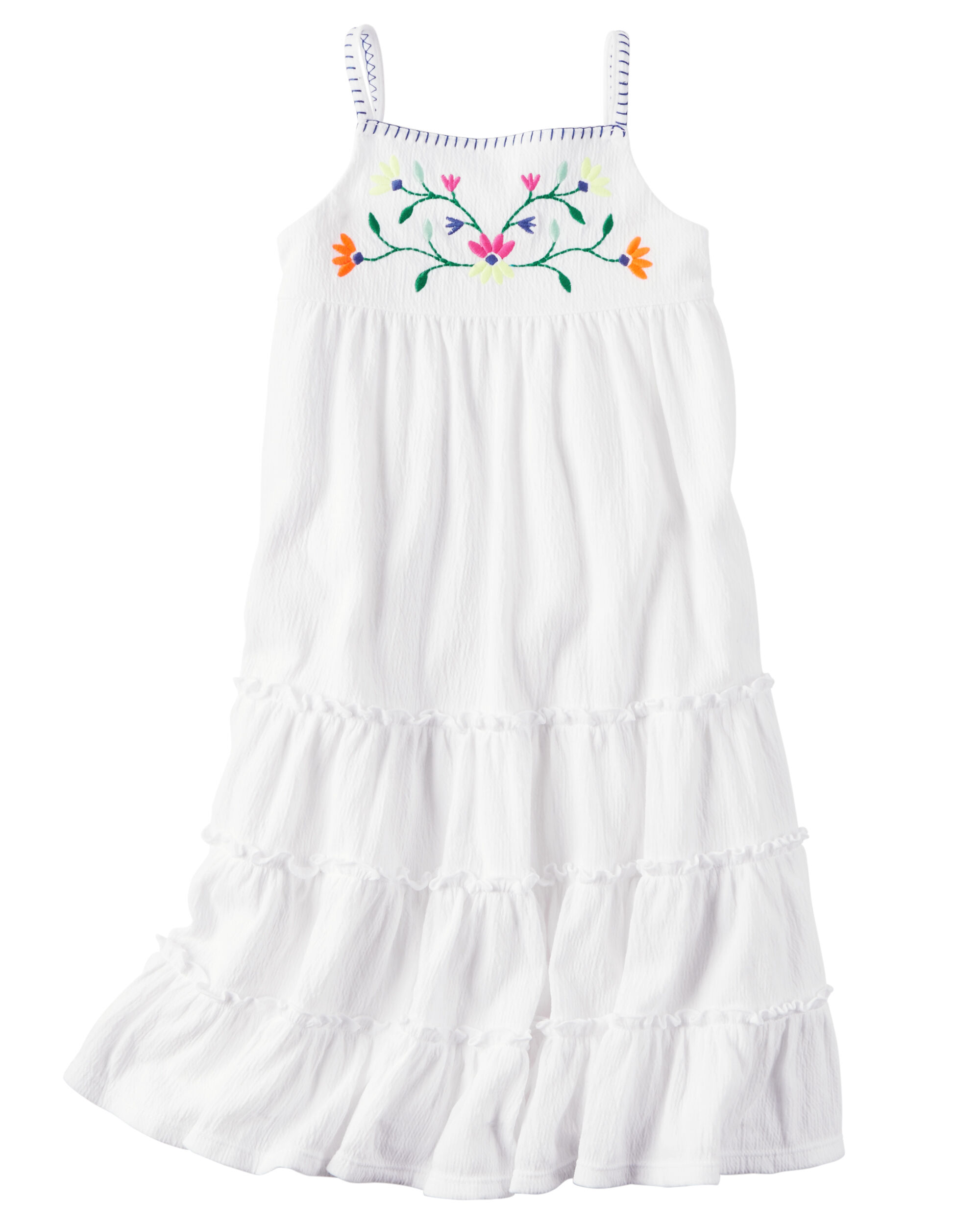 Maxi Baby Name Tiered Crinkle Maxi Dress Carters