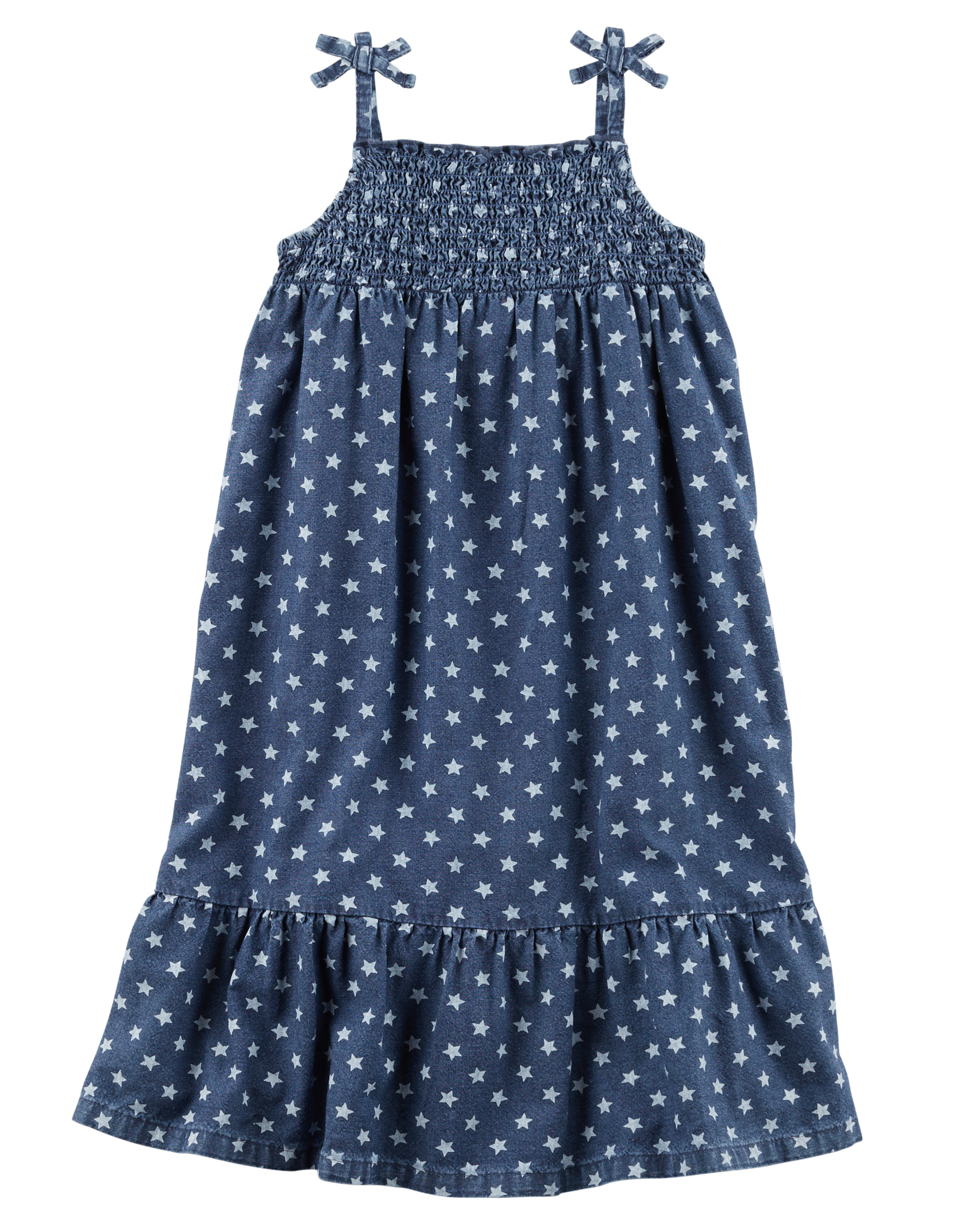 Maxi Baby Name Star Chambray Maxi Dress Carters