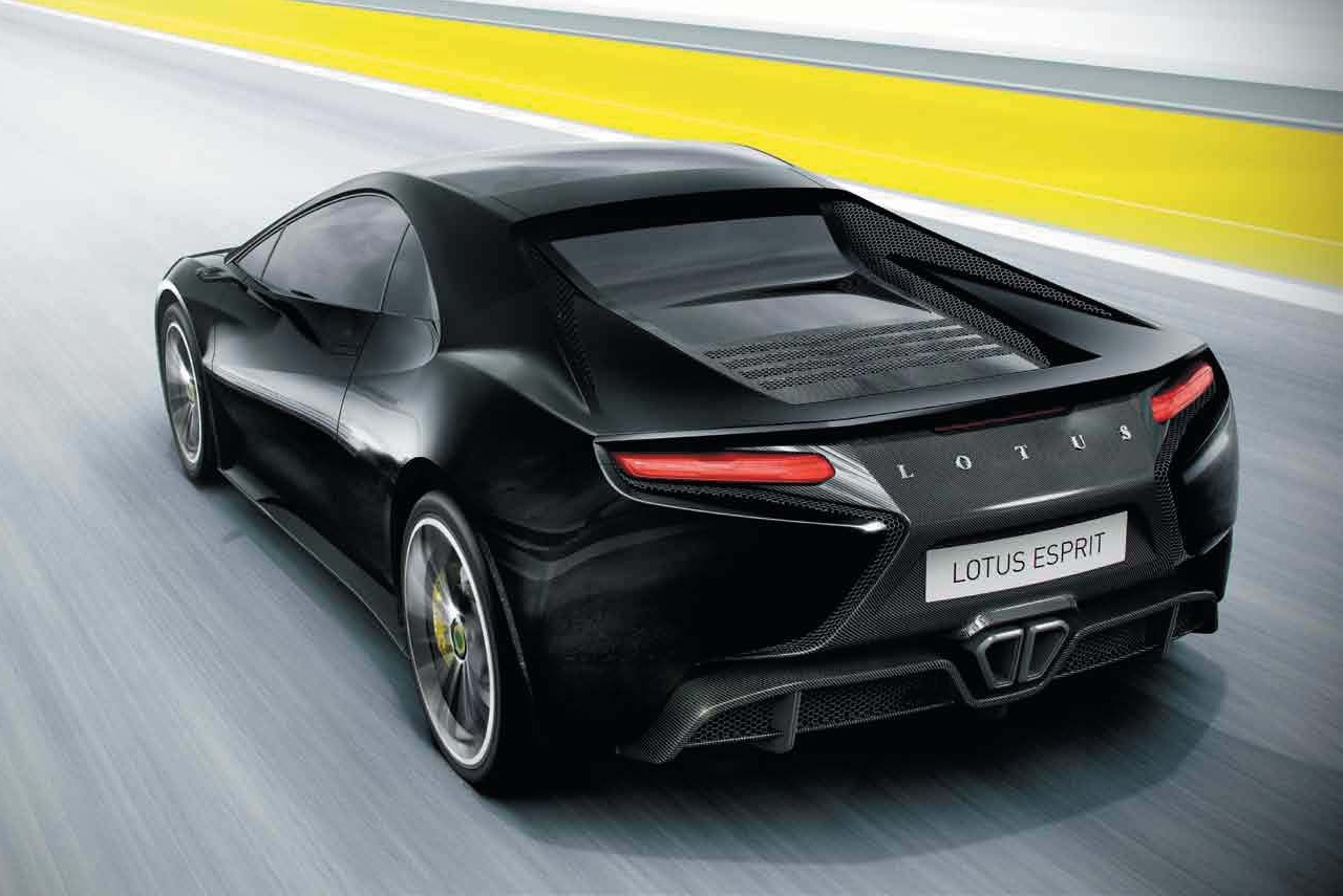 Esprit New Lotus Developing New V 8 Engine To Power Esprit