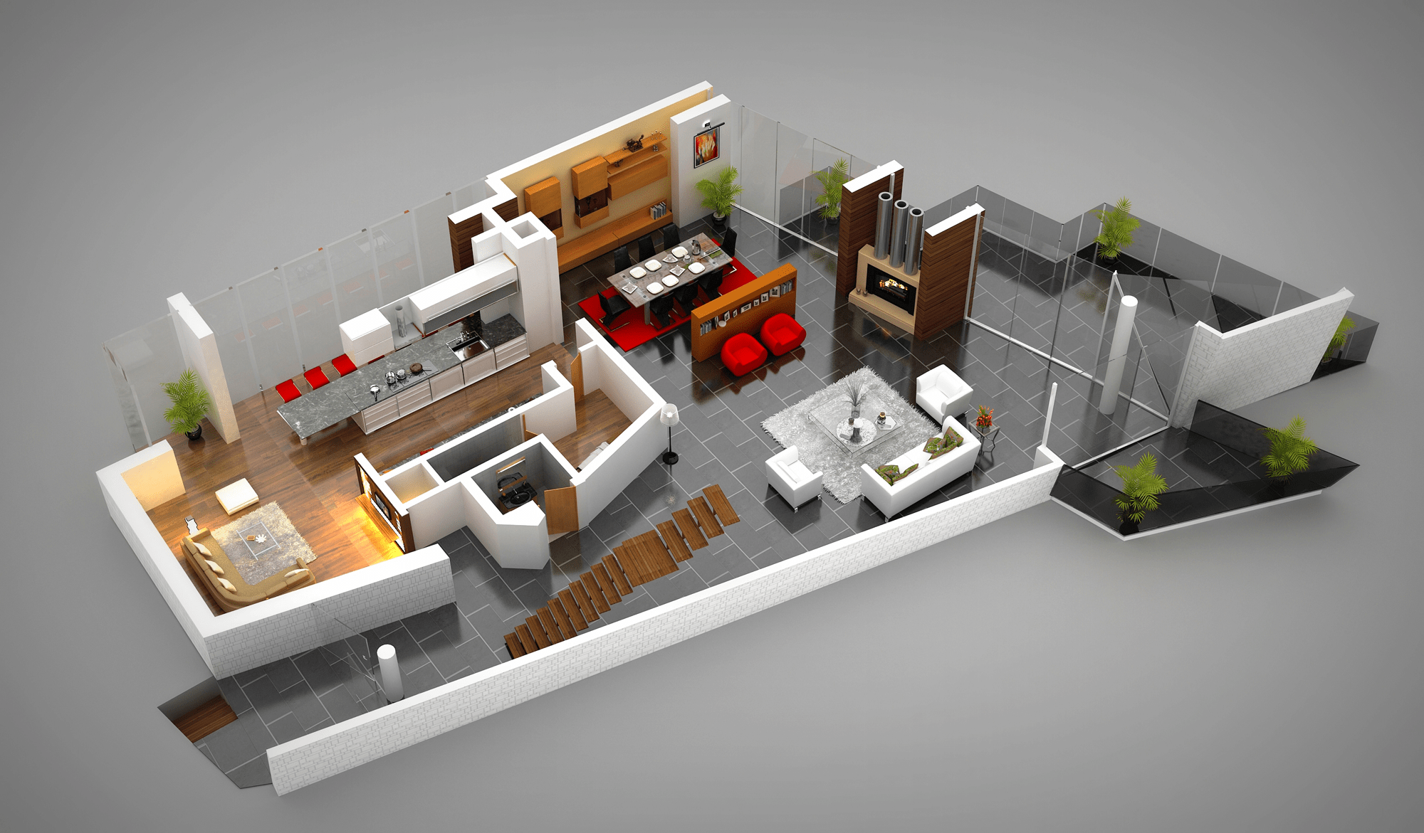 3d Planer Vacation Rentals Interactive Floor Plans Property