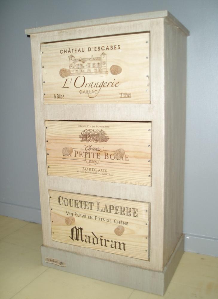 Fabriquer un meuble en carton par cr azo cartonrecup - Comment fabriquer un meuble en carton ...