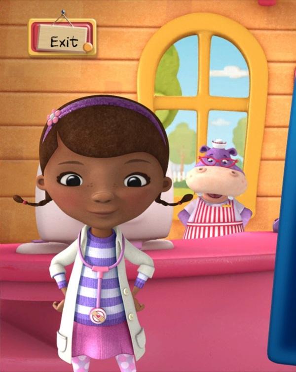 black girl cartoon characters
