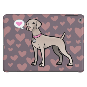 Customizable Cute Weimaraner iPad Air Case