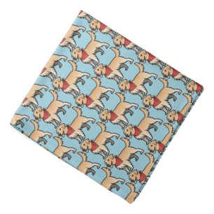 Cartoon goldie bandanna