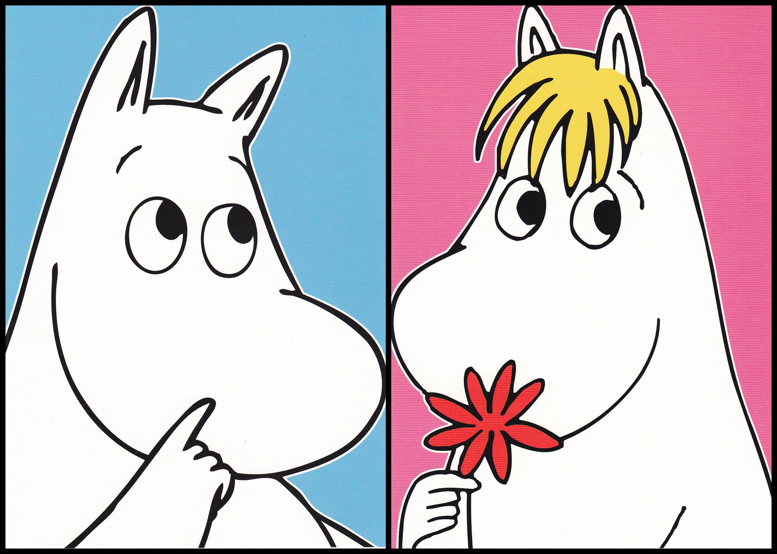 Wallpaper For Iphone X Live Moomin And Snorkmaiden Cards Picture Moomin And