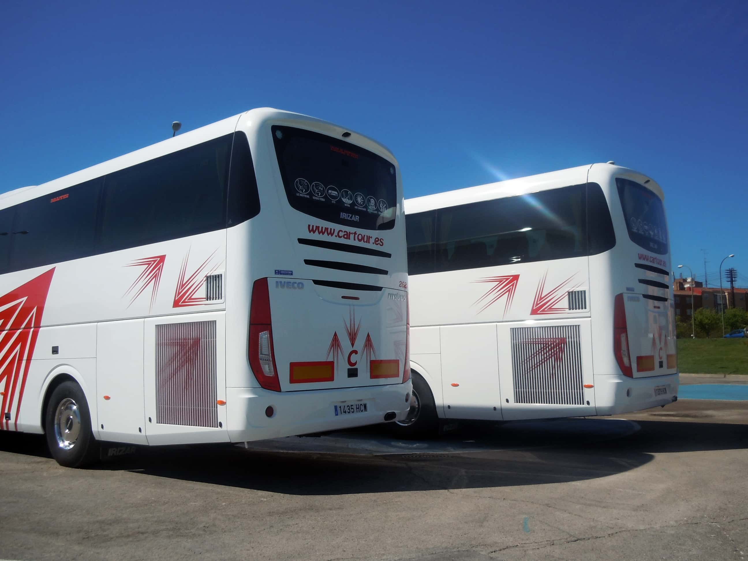 Bus 47 Madrid Cartour S A Coach Hire In Spain Madrid