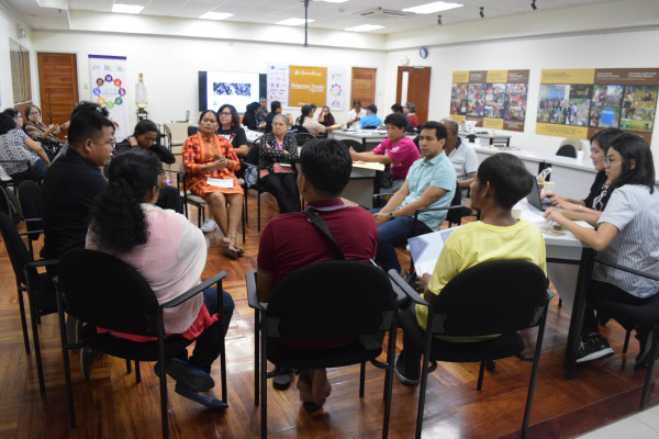 One workshop discusses the human rights situation in the Philippines.