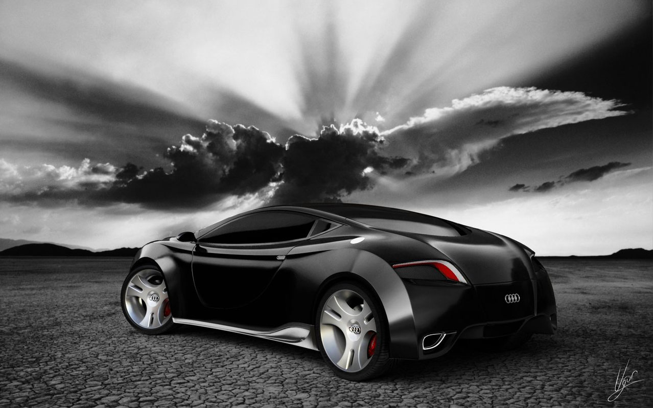 Wallpapers Of Car Corvette Convertible With Black Lights Audi Locus 2007 Cartype