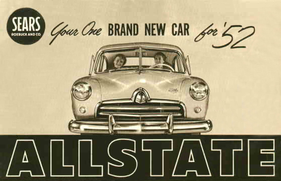 Cars Wallpaper With Names Sears Allstate 1953 Cartype