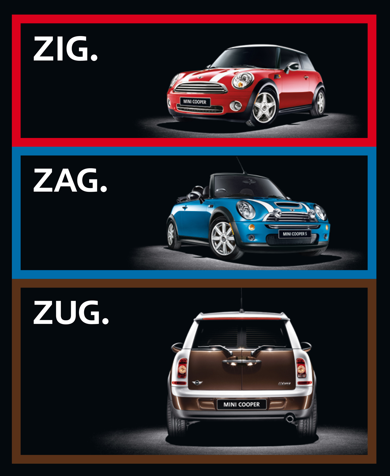 Glasregal Zigzag+atlas Mini Marketing Campaign Wins Gold Effie Cartype