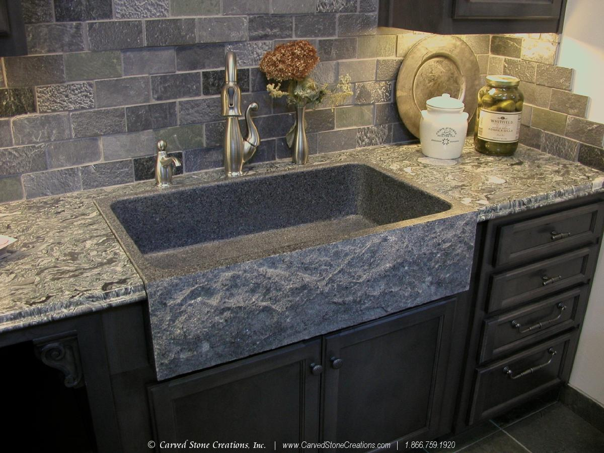 Kitchen Faucets For Granite Countertops Top 5 Reasons To Install A Granite Kitchen Sink Carved