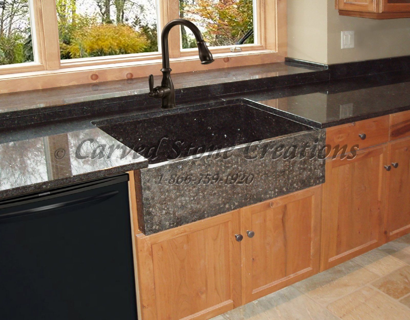 Marble Basin Countertop Elegant Natural Stone Kitchen Sink Designs
