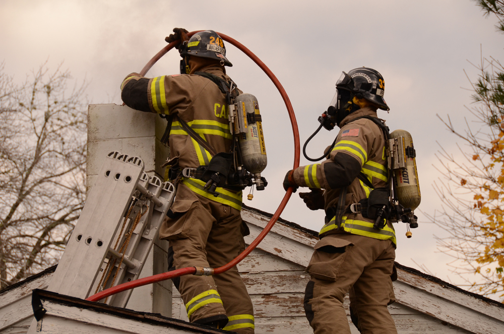 Company S 2 And 3 Chimney Fire Drill Fire Department