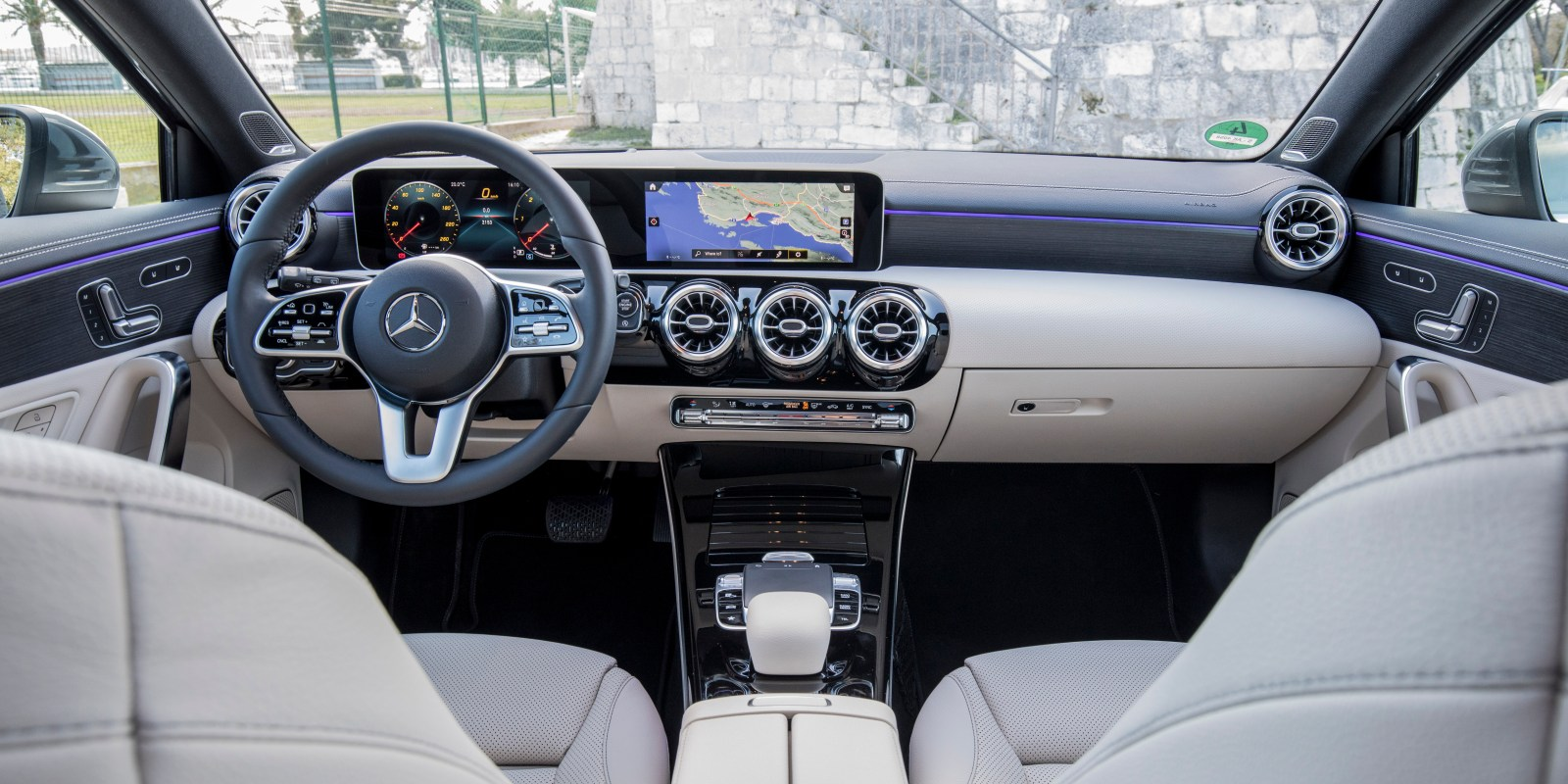 Mercedes A Class Interior Mercedes A Class Review Carwow