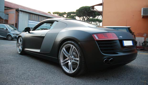 wrapping audi r8 by mp4 06