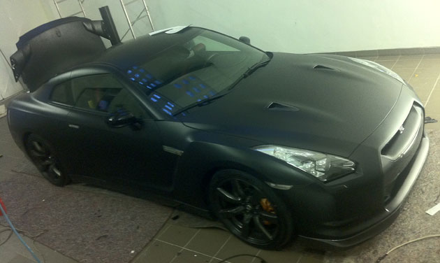wrapping gtr nero opaco 3M 09