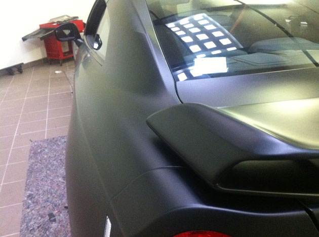 wrapping gtr nero opaco 3M 13