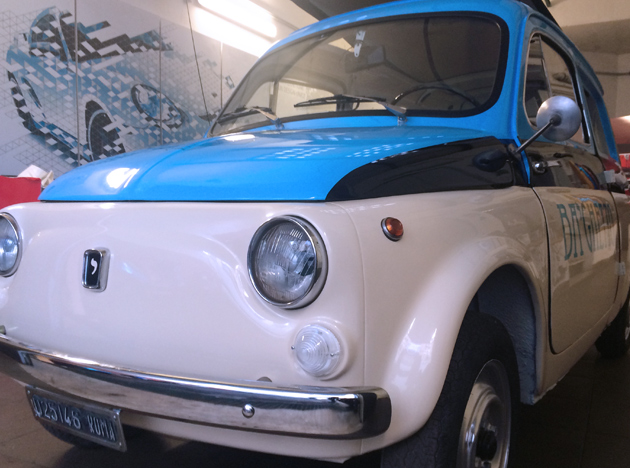 CarWrapping Fiat 500