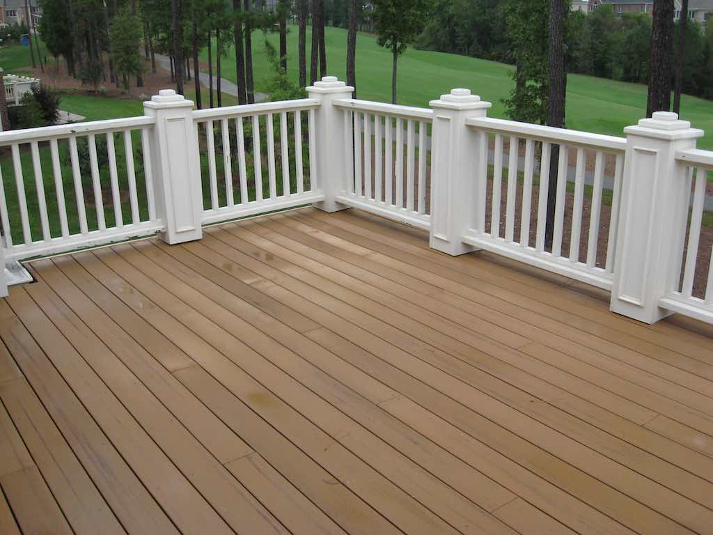 Synthetic Deck Boards Can You Stain Composite Decking Trex Decking