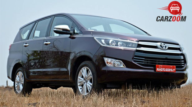 Car Zoom Toyota Innova Crysta 2.8 Zx Atprice In India, Review, Pics