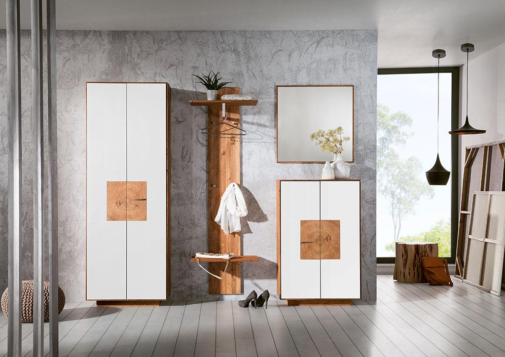 Garderobe Holz Massiv | Massivholzmöbel - Schreinerei Thiele - Medebach