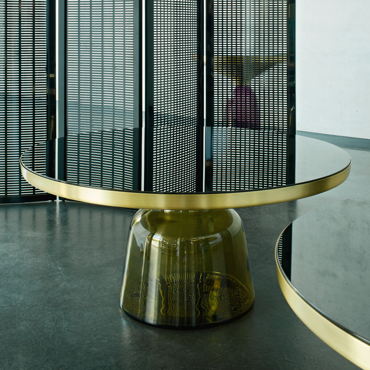 Classicon Bell Coffee Table Tisch Messing Casa De