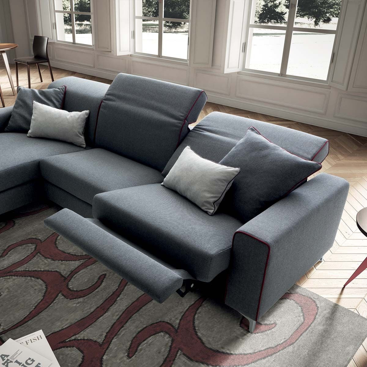 B.flex Divani E Poltrone Divano Con Chaise Longue Drive In Casarredostudio It